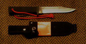 If I could only have one survival knife, which would also be used as a field dressing tool for big game and a meat cutting implement, it would be a Cold Steel SRK. Here's why.