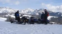 The magnificent views may make you forget to prepare for blizzards and potential bad weather. (Oregon Snowmobile Association photo)
